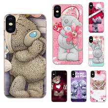 En solde de luxe Teddy Me To You ours pour Apple iPhone 11 Pro X XS Max XR 4 4S 5 5C 5S SE 6 6S 7 8 Plus(China)