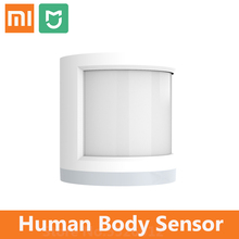 Xiaomi mijia czujnik ludzkiego ciała połączenie bezprzewodowe inteligentny czujnik ruchu działa z czujnikiem ruchu Xiaomi Gateway 2