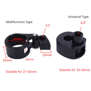 Image 5 - Llave de barra de amarre para volante de coche, herramienta de extracción de juntas esféricas de 27mm 42mm, herramienta manual de reparación