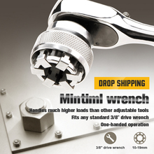 Mintiml Wrench Adaptive Wrench All-Fitting Multi Drill Attachment Magical Tool TSH Shop