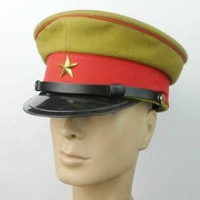 CAP Military-Hat WW2 VISOR WOOL CRUSHER IMPERIAL Army-Officer's JAPANESE