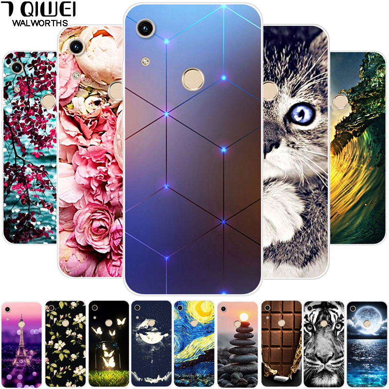 """For Huawei Honor 8A Case Cover Soft Silicone Back Cover Phone Cases For Huawei Honor 8A Prime JAT-LX1 8 A A8 Honor8A 6.09"""""""