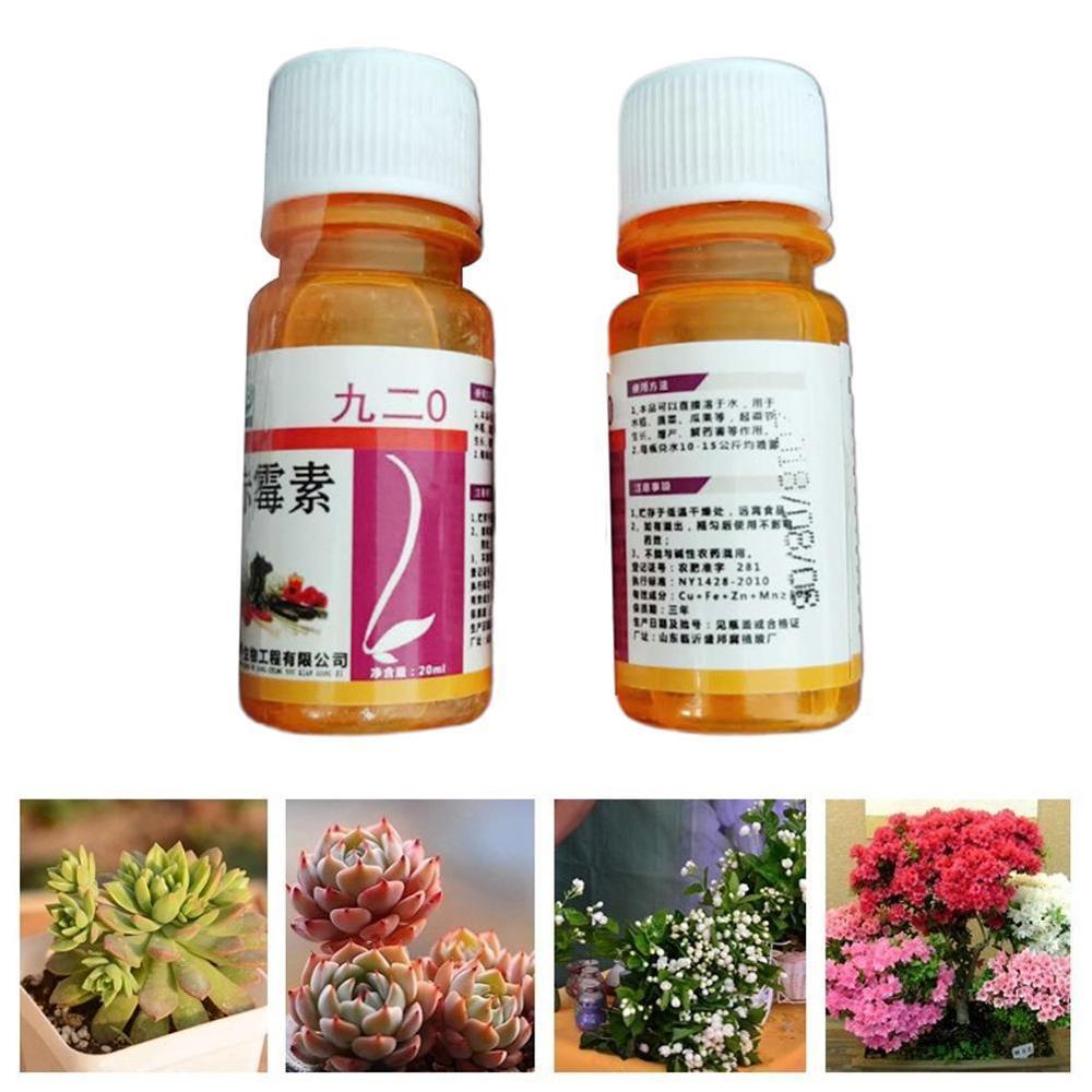 One Bottle 20 Ml Garden Gibberellic Acid Ga3/Gibberellin /GA3/Gibberellic Acid Plant Growth Hormone With Water Soluble Low Price