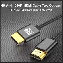 Hdmi 4k 1080p 20 кабель @ 30 гц hdr arc ethernet видео для hd