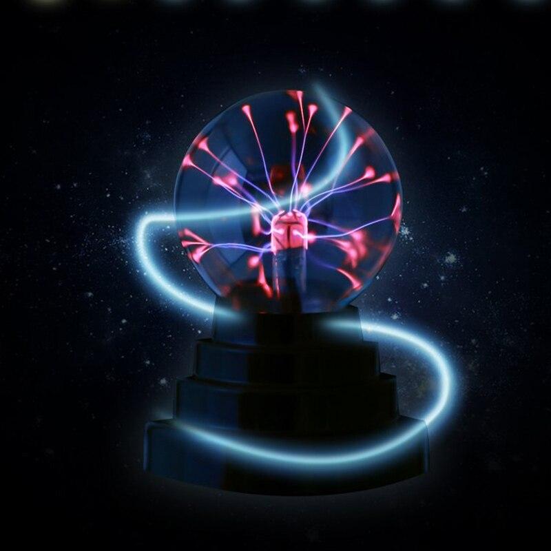 Plasma Ball Lamp Light Touching Sensitive Nebula Sphere Globe Novelty Toy VJ-Drop