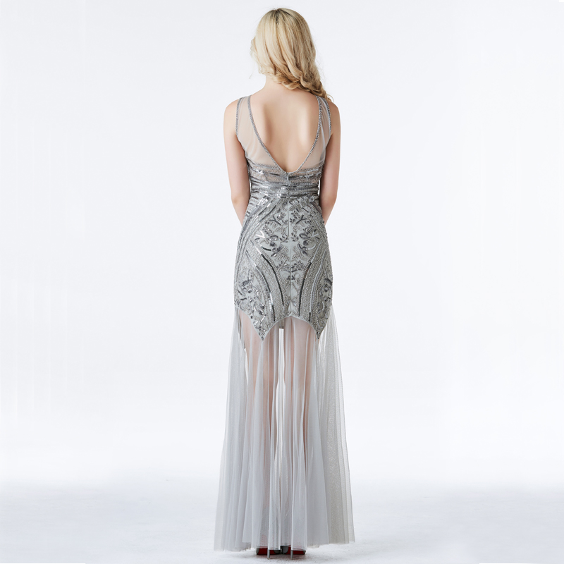 Top SaleYIDINGZS Evening-Dresses Sequins Mermaid Formal Long YD919 New-Style