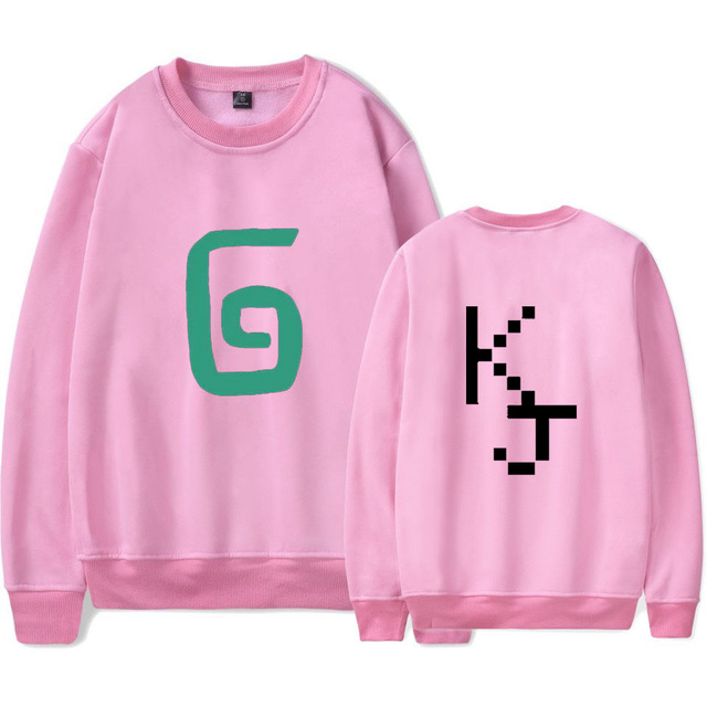 2021 Karl Jacobs Cute Style O-neck Sweatshirt Harajuku Streetwear Printed Stylish Outwear Round Collar Pullovers Clothes 5