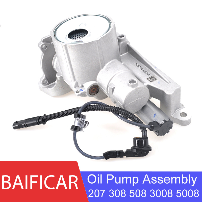 Baificar Brand New Genuine Oil Pump Assembly With Solenoid Valve For Peugeot 207 308 508 3008 5008 RCZ 1.6 THP EP6 Citroen C4 C5