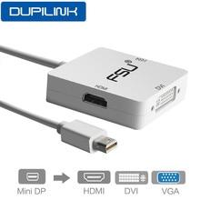 Mini DP to HDMI DVI VGA Cable mini displayport VGA HDMI for MacBook Pro Air Apple iMac Mini Display Port Thunderbolt Converter