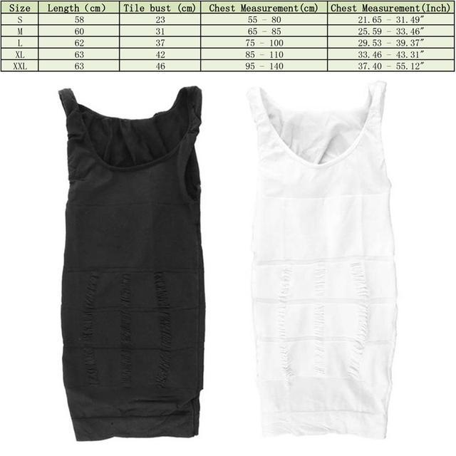 2019 Men Slimming Body Shaper Tummy Shaper Vest Slimming Underwear Corset Waist Muscle Girdle Shirt Fat Burn 5