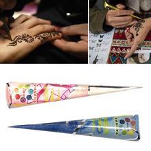 Rot Henna Indische Arabische Henna Mehndi Tattoo Paste Wasserdichte Creme Kunst Körper Indische Für Schablone Kunst Mehndi Henna Kegel Farbe
