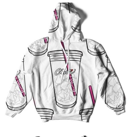 FRDUN TOMMY 3D Ice Coffee Splatter Hoodies Sweatshirts Men And Women Hoodie Charli DAmelio Pullover Unisex Costume Tracksuit