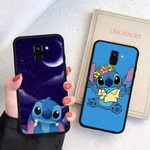 Fundas de teléfono estilo Stitch para Huawei, P9, P10, P20, P30, P40 Lite Por PSMART 2019
