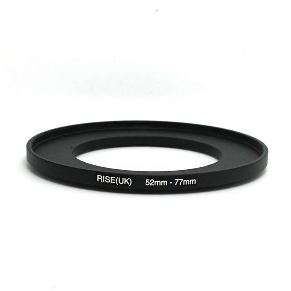 RISE (UK) 52 มม.-77 มม.52-77 มม.52 ถึง 77 Step Up FILTER Ring ADAPTER