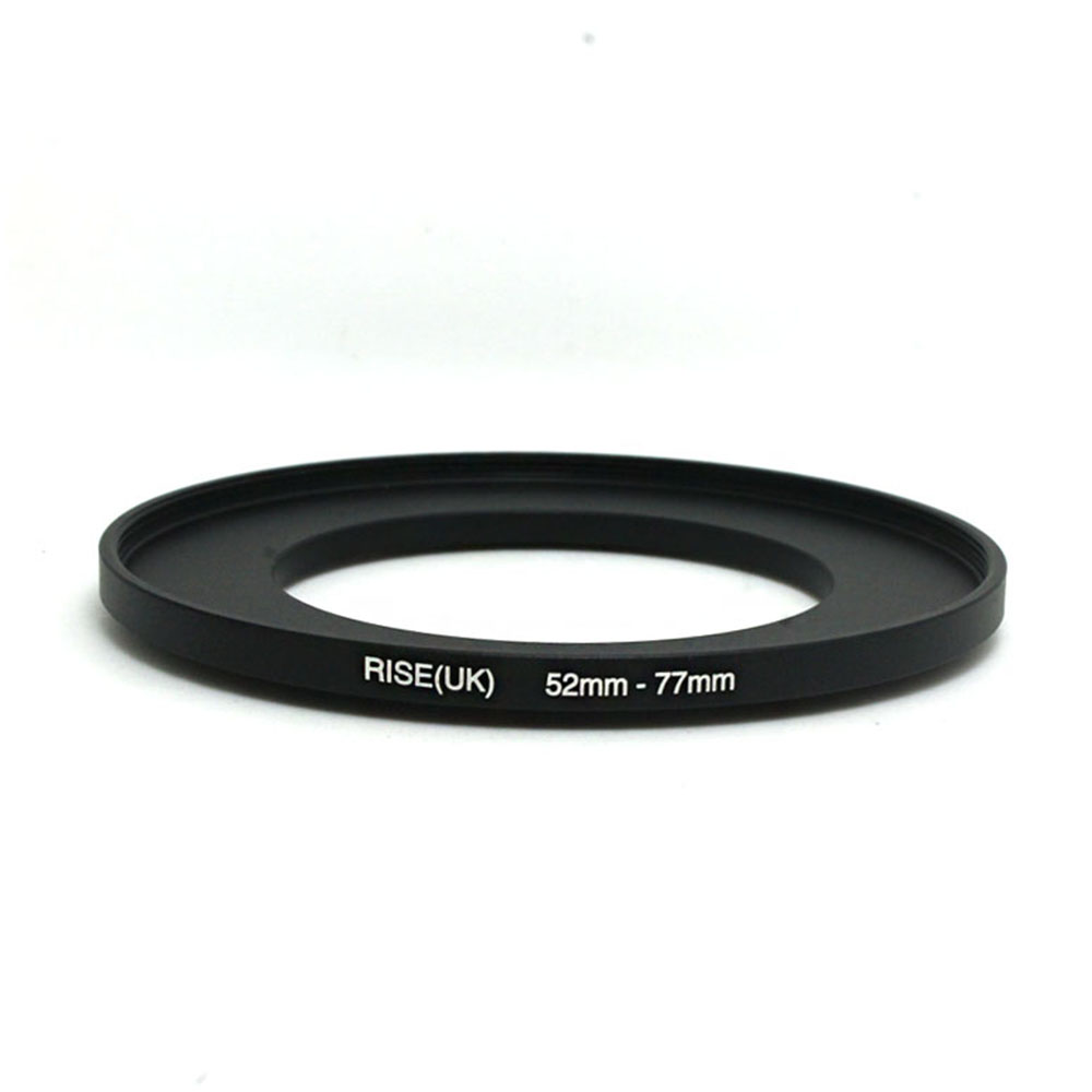 RISE(UK) 52mm-77mm 52-77 Mm 52 To 77 Step Up Filter Ring Adapter