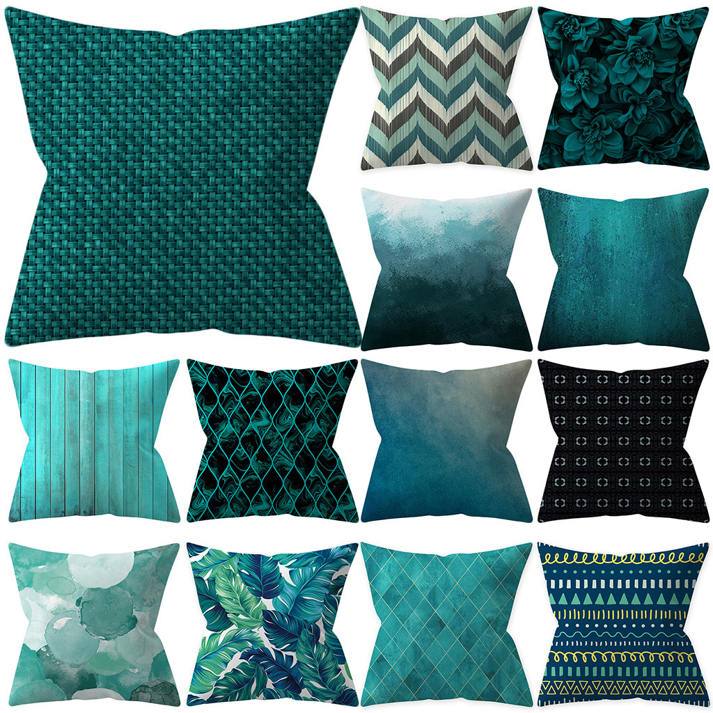 Pillowcases Simple Fashion Throw Pillow Case Cafe Sofa Cushion Cover Home Decor Kussenhoes Housse De Coussin Pillow Cover Cojine