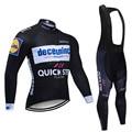 Новинка 2020, командный быстрый шаг, велосипедный комплект, гоночная одежда, одежда с длинным рукавом, одежда для велоспорта, мужской комплект...