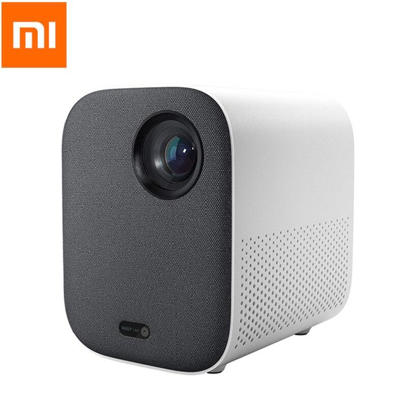 Xiaomi Mijia mjgtyds02fm projecteur DLP 1080P Full HD 2GB DDR3 DLP Support de projecteur 4K vidéo WIFI Proyector LED projecteur TV