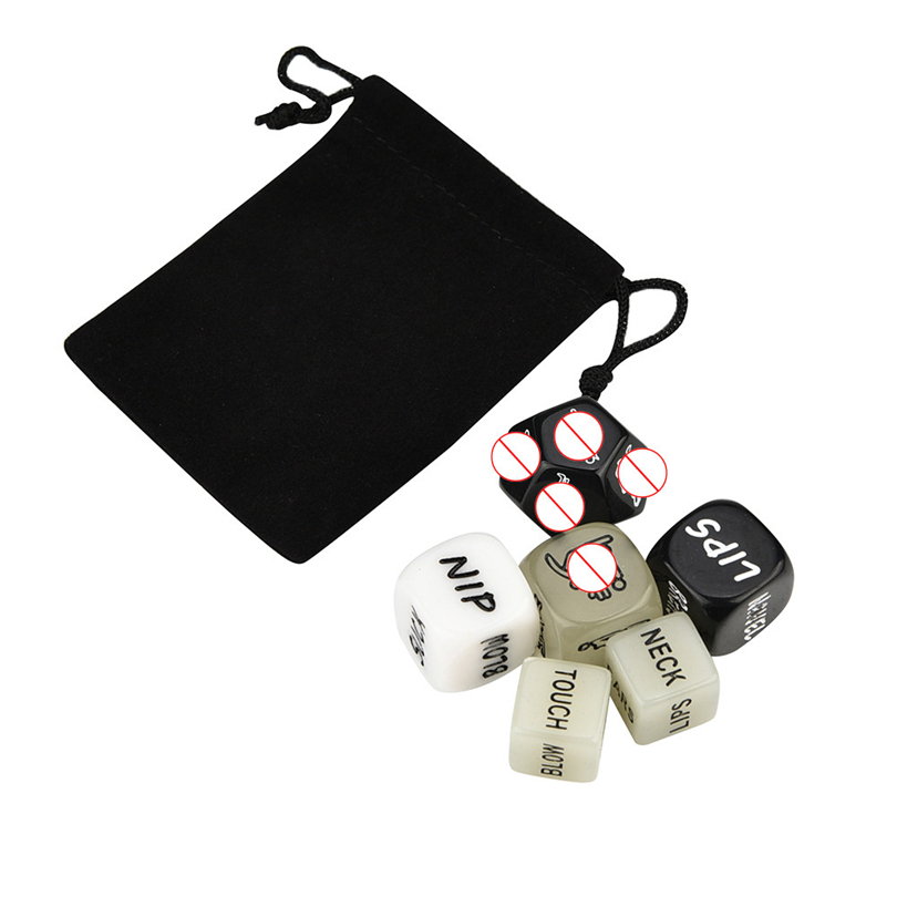 6PC Sex Dice Sex Toy Set Erotic Craps Toys Love Dices Toys For Adult Game For Couples Dice Game Toy Giochi Erotici Parejas A20