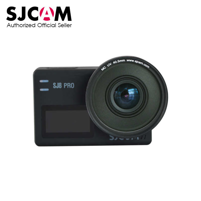 SJCAM MC UV Lensa 40.5 Mm + Tutup Pelindung Anti-Gores UV Filter Lensa untuk SJCAM SJ8 Pro/ SJ8 Plus/SJ8 Air Action Camera