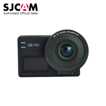 Sjcam mc uv 렌즈 40.5mm + 보호 캡 sjcam sj8 pro/sj8 plus/sj8 에어 액션 카메라 용 안티 스크래치 uv 필터 렌즈