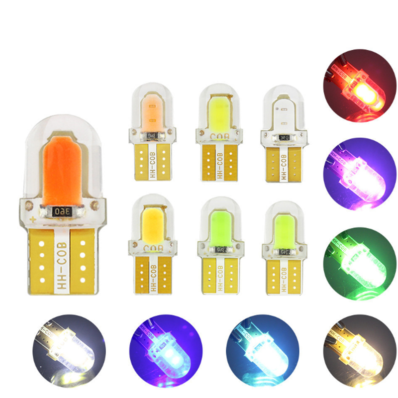 LED W5W T10 COB 8SMD Car Interior Lights for <font><b>VW</b></font> Polo Golf 4 5 7 6 <font><b>T5</b></font> T4 Beetle Passat B6 B5 B7 B5.5 Touran Bora Caddy image