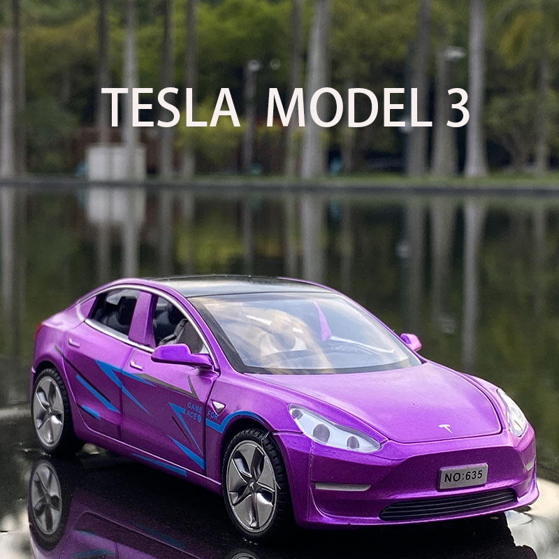2021 New 1:32 Tesla MODEL X MODEL 3 MODEL S Alloy Car Model Diecasts Toy Vehicles Toy Cars Kid Toys For Children Gifts Boy Toy 2