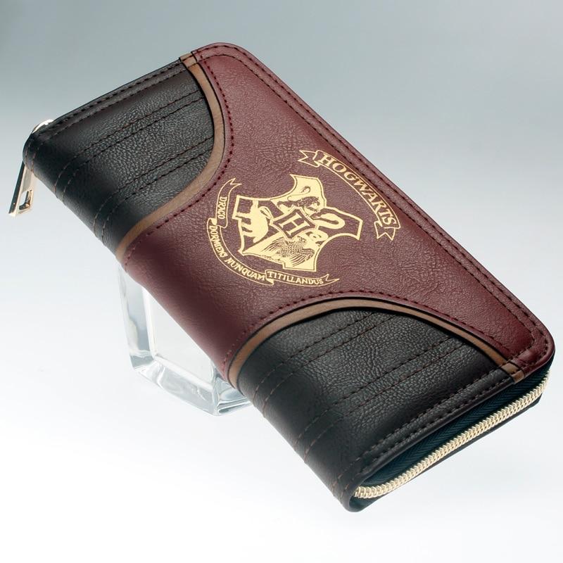 Hogwarts Wallet Large Capacity Wallets Female Purse Lady Purses Phone Pocket Card Holder DFT1994