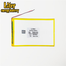 3080160 batteria ai polimeri di 5000 mah 3.7 V MP4 tablet mobile di potere della batteria