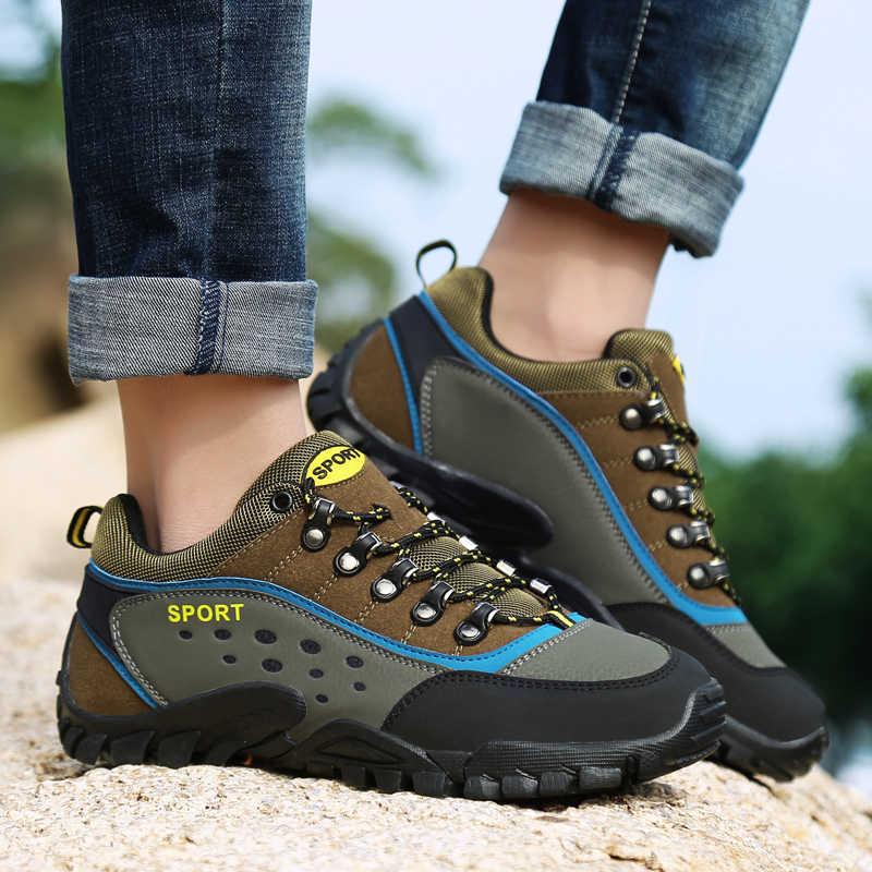 Nieuwe Mannen Vrouwen Winter Wandelschoenen Outdoor Sneakers Mountain Trekking Schoenen Ademend Klimmen Schoenen Camping Jacht Laarzen