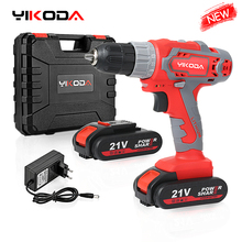 Power-Tools Cordless-Drill Electric-Screwdriver YIKODA Lithium-Battery Rechargeable Mini