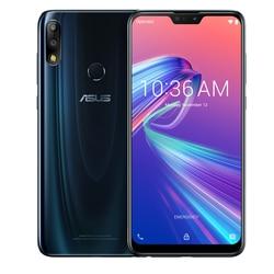 ASUS ZenFone Max Pro M2 ZB631KL 4GB pamięci RAM 64GB ROM NFC 6.3 cal 4G smartphone lte face id 5000mAh Android 8.1 Telefony Komórkowe    -