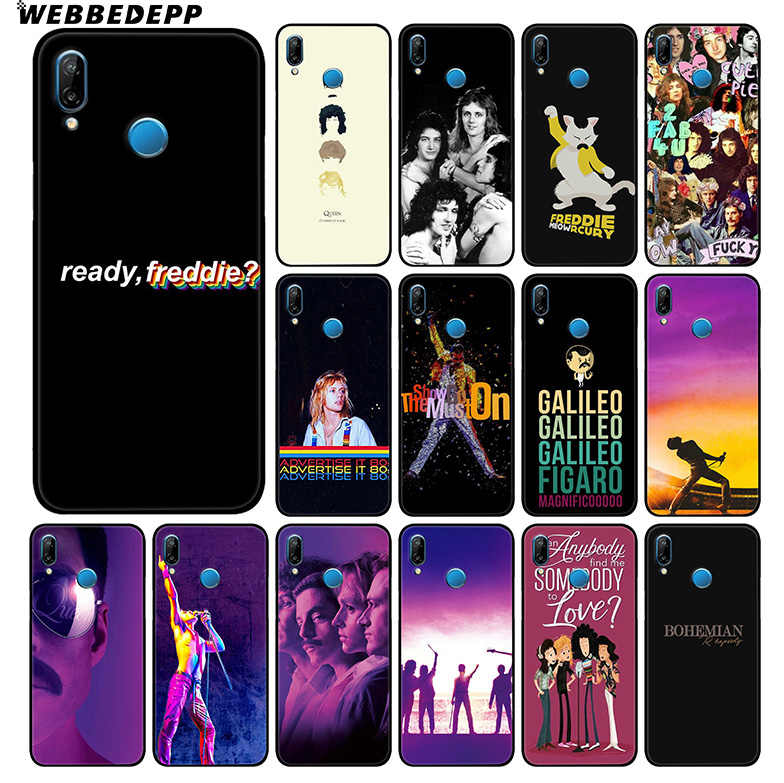Bohemian Rhapsody Queen Lembut Case untuk HUAWEI Mate 30 P20 P30 P Smart Z Plus Lite Pro 2018 2019 untuk honor Pandangan 20 9X Pro