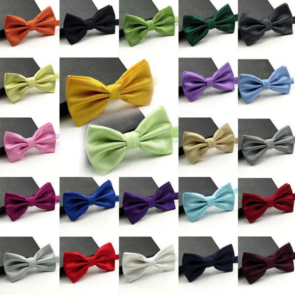 Men's Boys Ties For Men Handmade Adjustable Necktie Bowtie Men Boy Kids Bow Ties Necktie Bow Tie Baby Children Ties Cravate