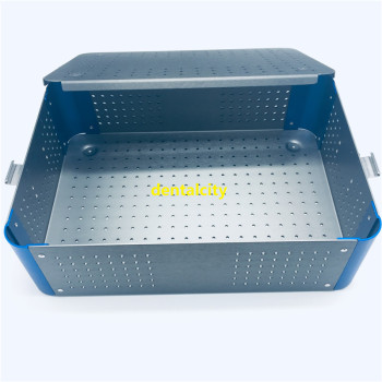 Sterilization case disinfection tray box for surgical instrument tools dental sterilizing - discount item  25% OFF Oral Hygiene