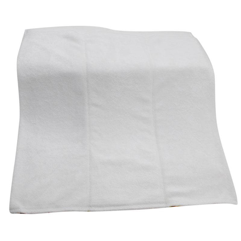 Oeko-certificated 2X4X2 Layer Super Absorbent Reusable organic bamboo prefold diaper 36*36cm, prefold cloth diaper 1pc