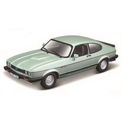 Bburago 1:24 Scale 1973 Ford Capri alloy racing car Alloy Luxury Vehicle Diecast Cars Model Toy Collection Gift