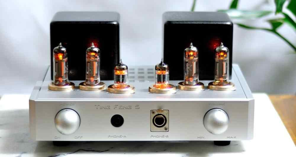 MZ-5 Penuh Keseimbangan Vacuum Tube Digunakan Amplifier Preamp dengan Headphone Earphone Amp Ganda 100W Transformator 5814(12AU7)x2, 6c19x4