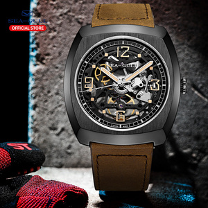 Image 3 - 2020 Seagullนาฬิกาผู้ชายBarrelนาฬิกาอัตโนมัติกลวงมุมมองLuminousนาฬิกาขนาดใหญ่849.27.6094