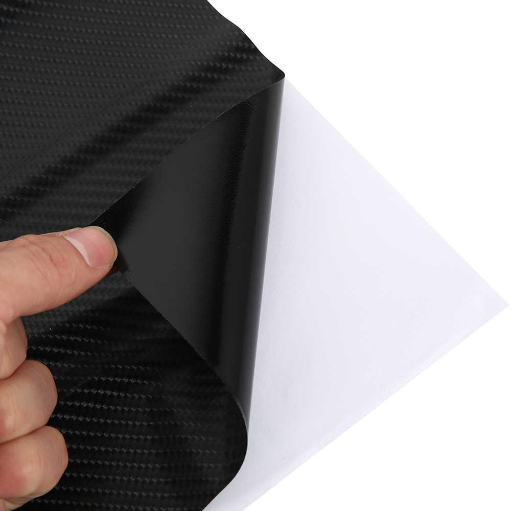 152*30 سنتيمتر 4D شريط الياف الكربون ملصقات السيارات مقاوم للماء لتقوم بها بنفسك دراجة نارية السيارات السيارات التصميم التفاف لفة اكسسوارات