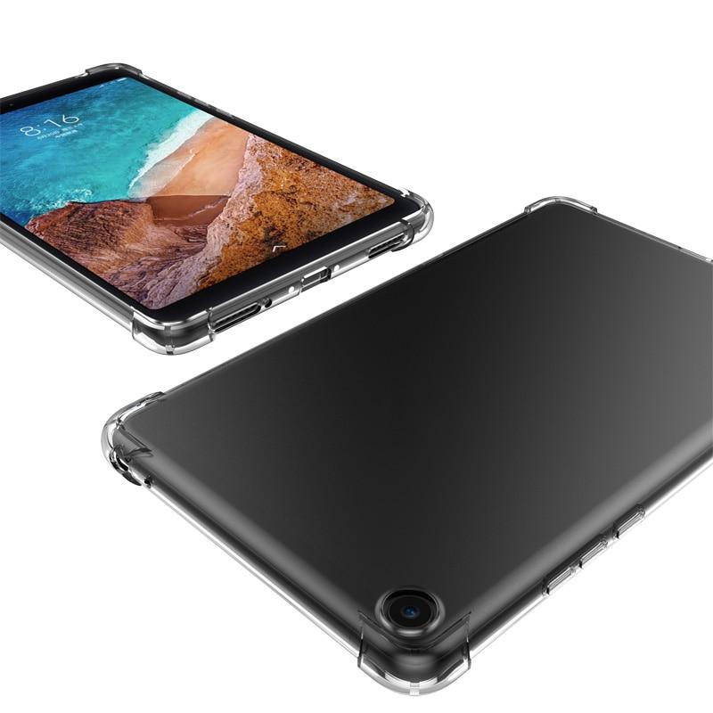 Противоударный силиконовый чехол для Huawei MediaPad Media M3 M5 M6 Lite 8,0 8,4 10 10,8 прозрачная резиновая задняя крышка гибкий бампер