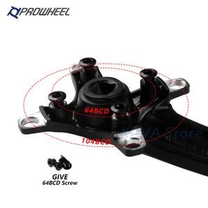 Image 5 - Prowheel Bicycle Crank Sprocket 104BCD MTB Bike Square Hole 170mm 175mm Crankset 32T 34T 36T 38T 40T 42T Narrow Wide Sprockets