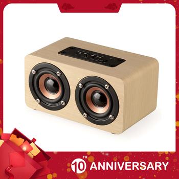KIITO Y20 drewniany bezprzewodowy głośnik Bluetooth przenośny głośnik HiFi Shock Bass TF blutooth Subwoofer tanie i dobre opinie Przenośne Baterii Drewna Pełny Zakres 2 (2 0) ODTWARZANIE WIDEO NONE 10 w Inne 20Hz-20 KHz W150*D85*H75mm 580g 1500mah