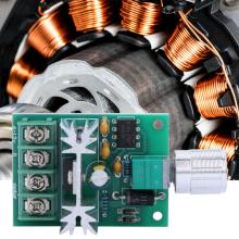 DC 6-12V 6A PWM Motor Speed Controller Stepless Regulator Adjustable Control Governor Switch Module