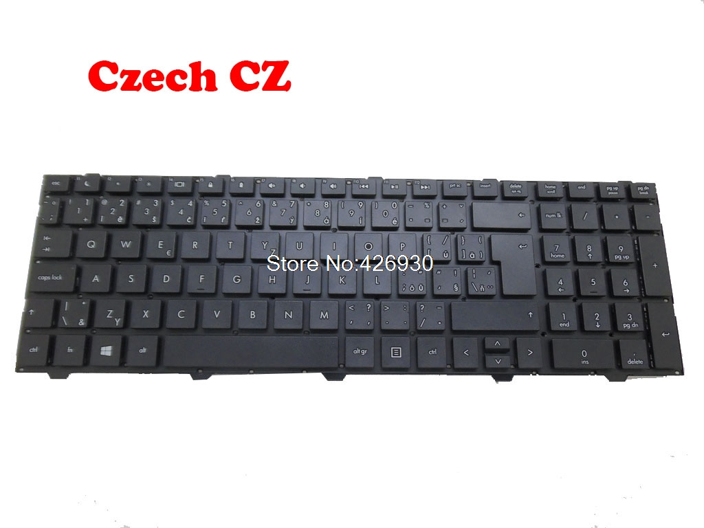 Laptop Keyboard For <font><b>HP</b></font> 4540S 4545S 676504-261 701485-051 677045-041 676504-061 677045-131 639396-251 677045-251 639396-251 image
