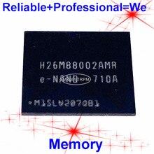 H26M88002AMR BGA153Ball EMMC 128GB โทรศัพท์มือถือหน่วยความจำใหม่และมือสองบัดกรีลูกบอลทดสอบ OK