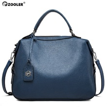 цена на 2019 New Soft genuine leather handbag Brand Cowhide skin leather shoulder bags designer woman tote bag bolsos#BC-108