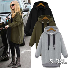 2020 Autumn Winter Zanzea Women Hoodies Long Sleeve Hooded L