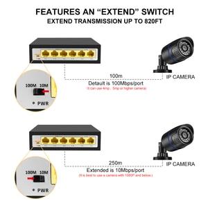 Image 5 - Gadinan 4CH 8CH 10 Portas 48V POE Switch de Rede Com o PADRÃO IEEE 802.3 af/at Over Ethernet Câmera IP /AP sem fio/Sistema de Câmera de CCTV