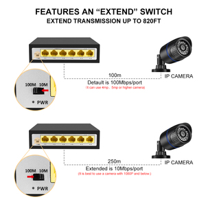 Image 5 - Gadinan 4ch 8ch 10 포트 48 v 네트워크 poe 스위치 ieee 802.3 af/at 이더넷 ip 카메라/무선 ap/cctv 카메라 시스템